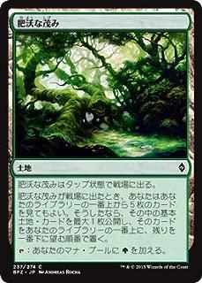 Magic: the Gathering / Fertile Thicket(237) - Battle for Zendikar / A Japanese Single individual Card