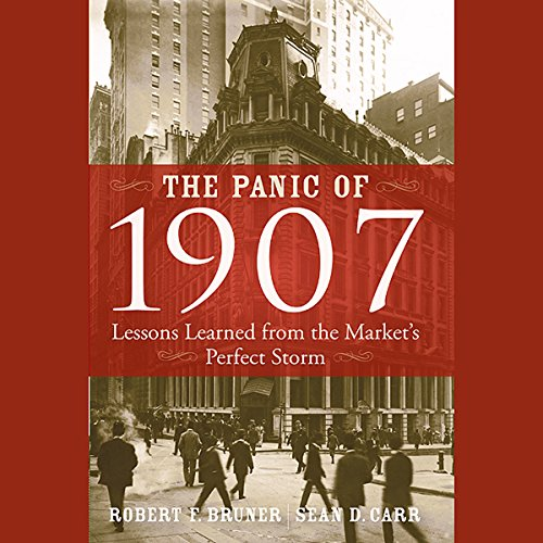 The Panic of 1907 audiobook cover art