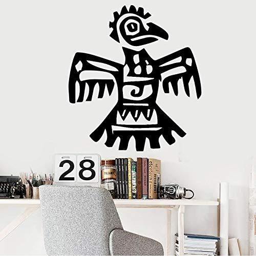hetingyue Divertenti Adesivi murali in Vinile Uccello Cucina Camera da Letto Scuola Materna Arte Decorativa Adesivi murali 58x63cm Impermeabile all'umidità