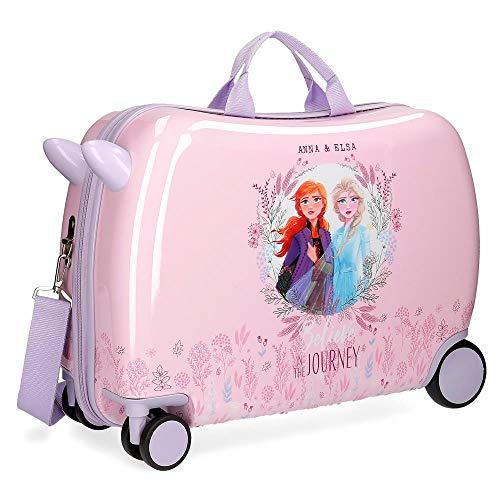 Disney Frozen 2 Maleta Infantil Morado 50x38x20 cms Rígida ABS Cierre combinación 34L 2,1Kgs 4 Ruedas Equipaje de Mano
