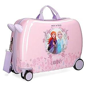 Disney Frozen II, Maleta Infantil, Tamaño Único, Morado