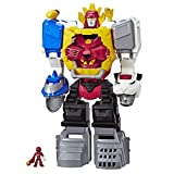 Playskool Heroes Power Rangers Power Morphin Megazord, 2-in-1 Converting Playset, 2-Foot Megazord with Lights and Sounds, Kids Ages 3 and Up
