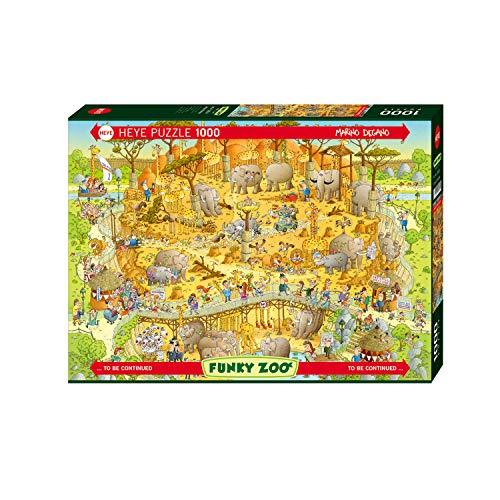 Heye African Habitat, Funky Zoo, Degano Puzzle, Brown