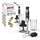 Imetec HB5 2500 Frullatore a Immersione, 3 Accessori, Tritatutto, Frusta e Bicchiere, Piede Extra...