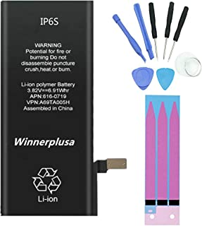 Winnerplusa Battery kit for iPhone 6s
