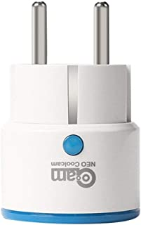 NAS-WR01ZE Z-Wave Smart Power Plug EU Plug Socket Repeater Extender Outlet Plug Smart Home Automation Alarm System
