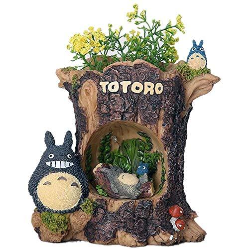 ZSNB brandt Mijn nabar Totoro Anime LED-nachtlampje uit de Japanse manga meester Hayao Miyazaki voor Fairy Mini Home Decor Resin Crafts