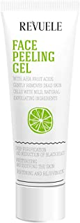 Revuele Face Exfoliating Gel with AHA Fruit Acids 80 ml, Pack of 12