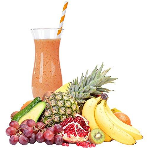 1 Kg Tropische Früchte Geschmack Eisgetränkepulver für 9 Liter Smoothi Slush Sorbet Granita Eisgetränke Eis Cocktails