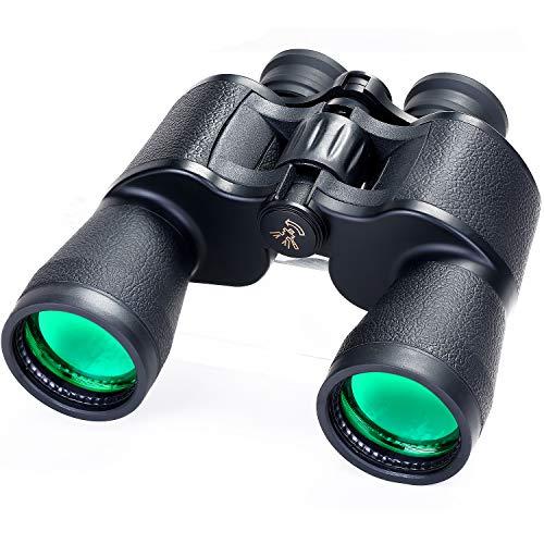 Fernglas für Erwachsene, 20x50 Hochleistungs Kompakt Fernglas Wasserdichtes, Beschlagfreies Fernglas Teleskop für die Vogelbeobachtung Reisen Stargazing Jagdkonzerte Sport