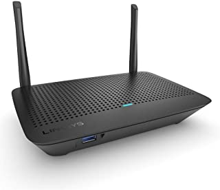 Linksys MR6350 Dual-Band Mesh WiFi 5 Router (AC1300, Compatible with Velop Whole Home WiFi System, Parental Controls Via L...