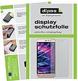 dipos I 2X Schutzfolie matt kompatibel mit Medion Life E5006 Folie Bildschirmschutzfolie