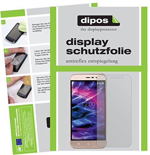 dipos I 6X Schutzfolie matt kompatibel mit Medion Life E5006 Folie Bildschirmschutzfolie