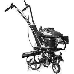 BRAST Bensingröda Cutter 4.4kW(6ps) Självgående Motor Hack Trädgårdsskärare Jord cutter Kultivator 2 Arbetsbredder 36cm/60cm