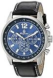 Burgmeister Reloj de Cuarzo 608-132 Azul 46 mm