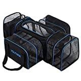 YOUTHINK Soft Crate Roomy Travel Carriers for Pets up...