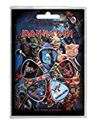 Iron Maiden - De gezichten van Eddie (Set Plettri) Rock Merchandising Ufficiale