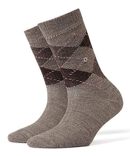 BURLINGTON Damen Socken Whitby - Warm Und Weich, 1 Paar, Braun (Nutmeg Melange 5413), Größe: 36-41