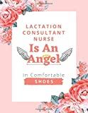Lactation Consultant Nurse Is An Angel In Comfortable Shoes: Nurse Planner 2021-2022 with Contacts, Birthday Reminder, Password Log and More   Monthly Planner   Lactation Consultant Nurse Gifts