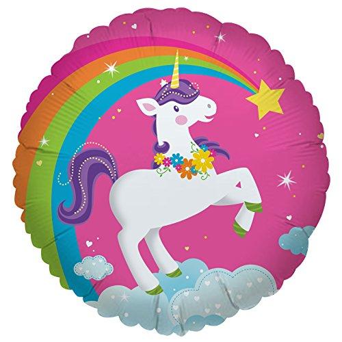 Cti Industries Corporation Fairytale Unicorn Party Foil Balloon