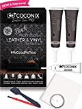 Coconix Black Leather Repair Kits for Couches - Vinyl & Upholstery Repair Kit for Car Seats, Sofa & Furniture...