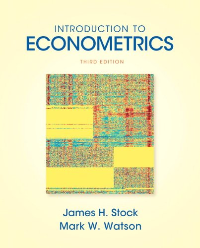 Introduction to Econometrics (Addison-wesley Series in...
