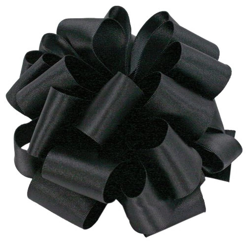 Offray Wired Edge Chantel Craft Ribbon, 1-1/2-Inch Wide by 10-Yard Spool, Black