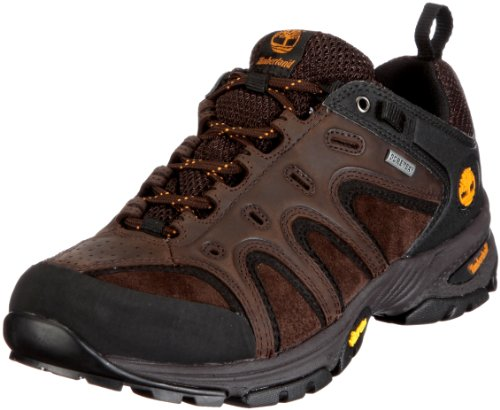 Timberland Herren LEDGE LOW LTHR GTX DK BRN Sportschuhe - Outdoor, Braun/Dark Brown, 43 EU