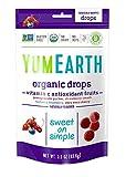 YumEarth Organic Vitamin C Antioxidant Fruit Drops, 3.3 Ounce (Pack of 6)