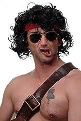 Rambo Perücke