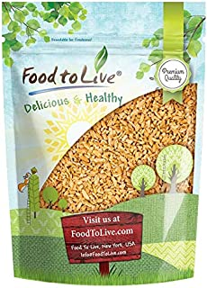 Whole Freekeh, 3 Pounds — Whole Grain, Vegan, Roasted Green Wheat, Healthy Ancient Supergrain Farik, High in Protein and Dietary Fiber, Bulk Frikeh, Product of the USA