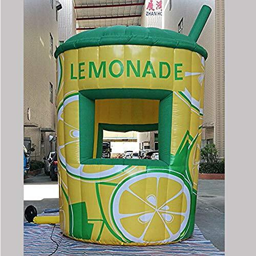 Inflatable lemonade stand