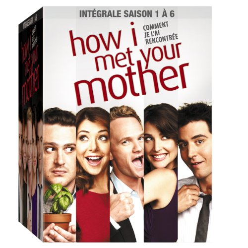 How I Met Your Mother-L'intégrale des Saisons 1 à 6-Coffret 18 DVD [Édition Limitée]