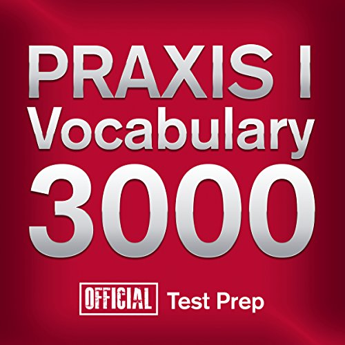 Official PRAXIS I Vocabulary 3000 audiobook cover art