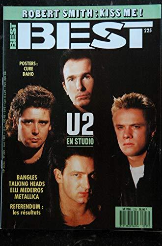 BEST 225 U2 Bangles Talking Heads Elli Medeiros Metallica + POSTER CURE DAHO 1987