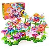 Regalos de Cumpleaños para Niñas de 3 a 7 Años, Flores Jardín Juguetes para Niñas de 4 a 6 Años Niños Regalo Educativo para Niños Ramo de Bricolaje Floral Craft Regalo para Niños de 4 a 9 Años
