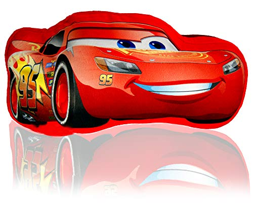 CARS Coussin forme Flash McQueen Rouge