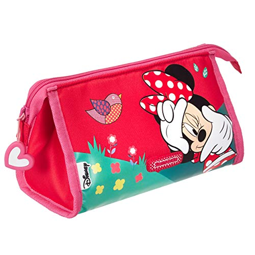 Samsonite LU0189 Polyester Minnie Toiletry Bag/Pencil Case | Perfect for Storing Items for Kids