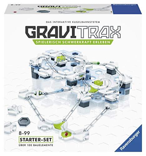 Ravensburger GraviTrax Starterset - Erweiterbare Kugelbahn für Kinder, Interaktive Murmelbahn, Lernspielzeug...