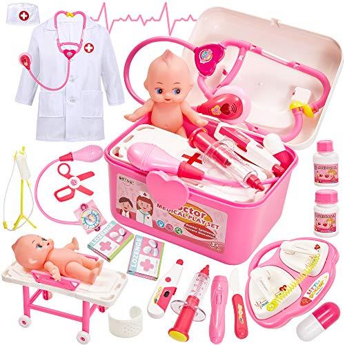 Buyger Malette Docteur Enfant Jouet Deguisement Docteur...
