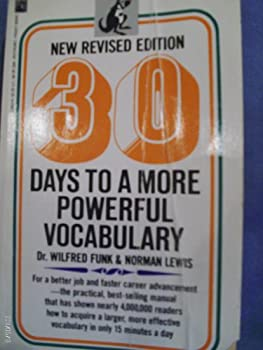 Paperback 30 Days to a More Powerful Vocabulary Book