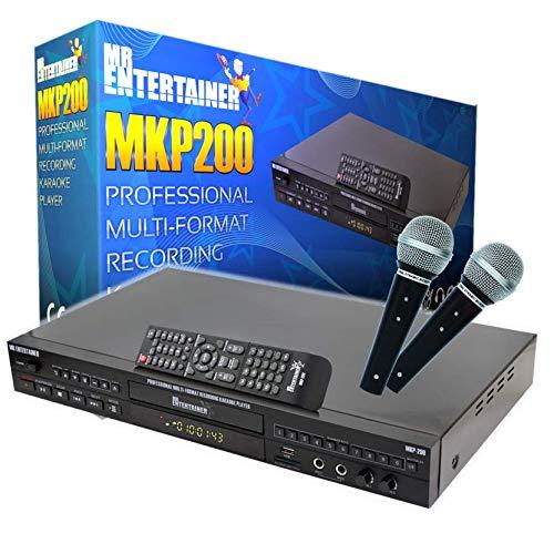 MKP200 Professional Machine Karaoke Player. CDG/DVD / MP3G / HDMI/Bluetooth/Enregistrement/Rip/USB/Scoring/Jukebox