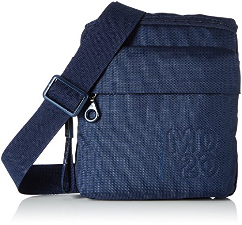 Mandarina Duck Damen Md20 Tracolla Geldbörsen, Blau (Dress Blue), 10x21x28.5 cm