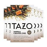 Tazo Black Tea Bags Vanilla Caramel Chai 20 Count, Pack of 6