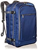 AmazonBasics Carry-On Travel Backpack with Carrying Handle and Shoulder Strap, 25+10L, 1.7kg Light