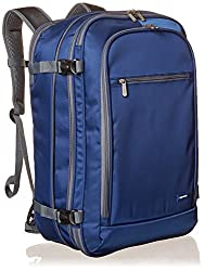 top rated Amazon Basics Carry-on Baggage Travel Backpack-Navy 2021