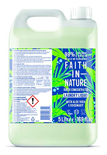 Faith in Nature Super Concentrated Laundry Liquid, 5L 1