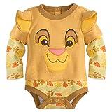 Disney Store Simba Baby Bodysuit (6-9) Gold