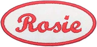Rosie The Riveter Name Patch For Costumes - Iron On Or Sew On!