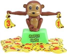 Nicedier AFFE Balancing-Skala Spielzeug AFFE Mathe-Spielzeug Monkey Banana Gleichgewicht Ausbildung Mathematisch-Werkzeug ...